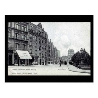 Old Postcard - Putney, London