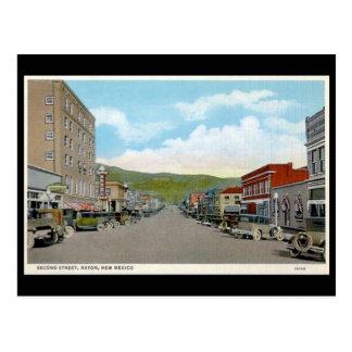 Old Postcard - Raton, New Mexico, USA