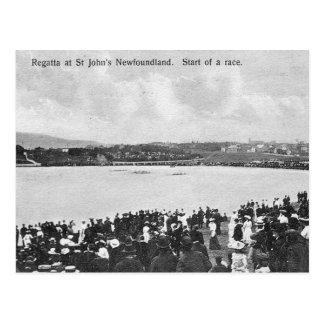 Old Postcard Regatta, St John's, Newfoundland
