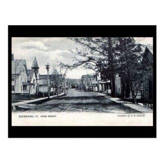 Old Postcard - Richford, Vermont, USA