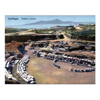 Old Postcard - Roman Amphitheatre, Carthage