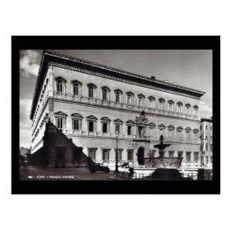 Old Postcard - Rome, Palazzo Farnese