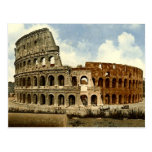 Old Postcard, Rome, the Colosseum