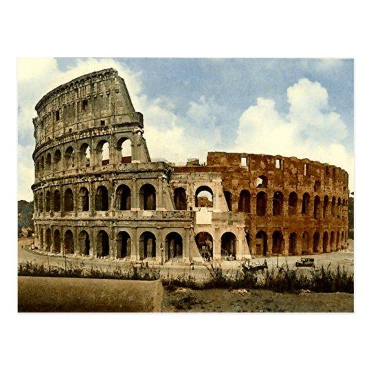 Old Postcard, Rome, the Colosseum Postcard
