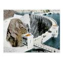 Old Postcard - Roosevelt Dam, Arizona. USA