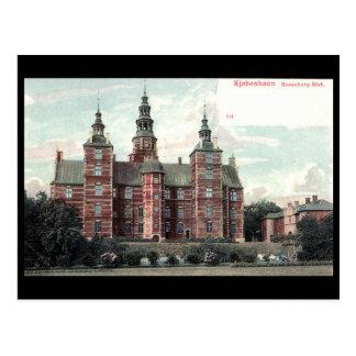 Old Postcard - Rosenborg Castle, Copenhagen