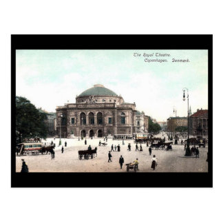 Old Postcard - Royal Theatre, Copenhagen