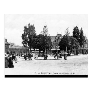 Old Postcard - Saint-Quentin, Aisne