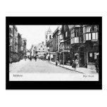 Old Postcard - Salisbury, Wiltshire