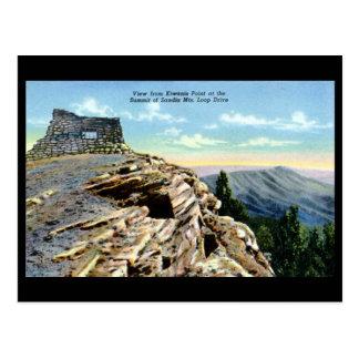 Old Postcard -Sandia Mountains, New Mexico