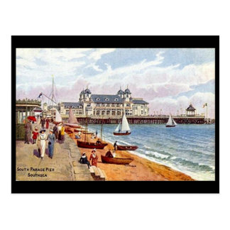 Old Postcard - South Parade Pier, Southsea