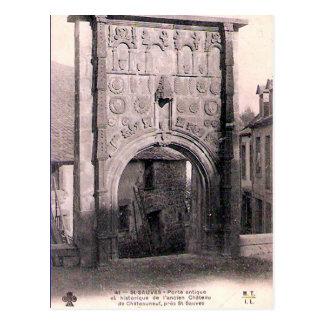 Old Postcard - St-Sauves-d'Auvergne, Puy-de-Dôme