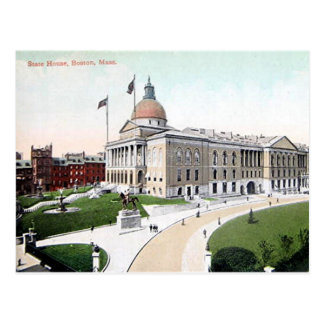 Old Postcard - State House, Boston, Mass