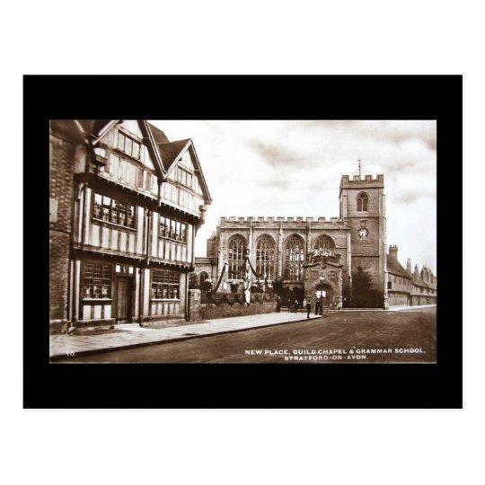 Old Postcard, Stratford-upon-Avon Postcard