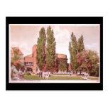 Old Postcard, Stratford-upon-Avon, Theatre Gardens