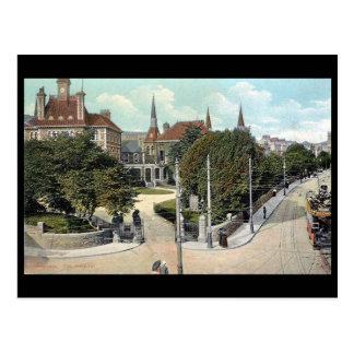 Old Postcard - Swansea, the Hospital
