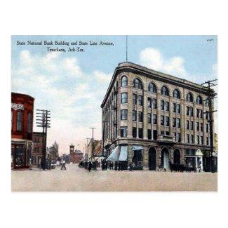 Old Postcard - Texarkana, USA