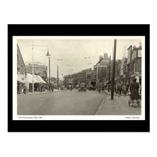 Old Postcard, The Broadway, Southall Postcard