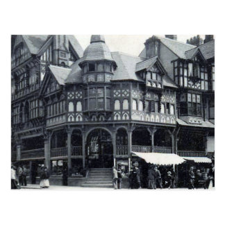 Old Postcard - The Cross, Chester, England
