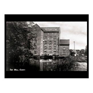 Old Postcard - the Mill, Olney, Bucks