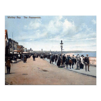 Old Postcard - The Promenade, Whitley Bay