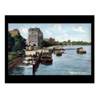 Old Postcard - The Wharf, Putney, London
