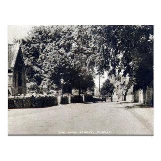 Old Postcard - Turvey, Bedfordshire