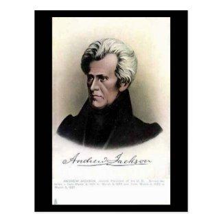 Old Postcard - US President Andrew Jackson