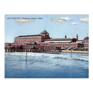 Old Postcard - Venice Lido, Italy