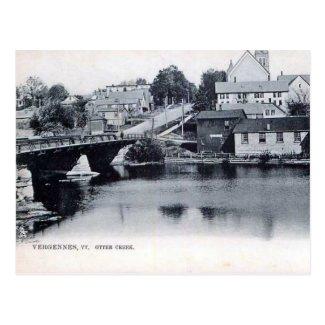 Old Postcard - Vergennes, Vermont, USA