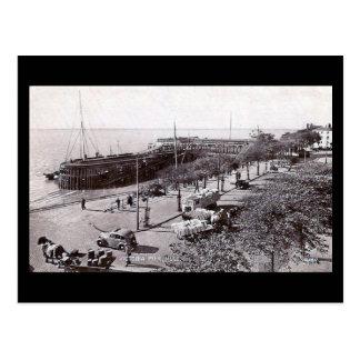 Old Postcard - Victoria Pier, Hull, Yorkshire