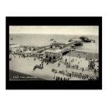 Old Postcard - West Pier, Brighton, Sussex