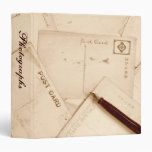 "Old Postcards 1.5"" Photo Album 3 Ring Binders"