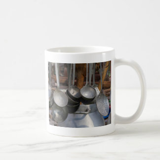 old pots and pans mugs