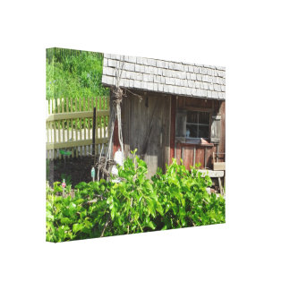 Old Potting Shed Canvas Print