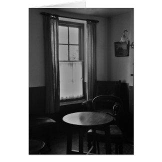Old Pub Lounge (Irish) Greeting Card
