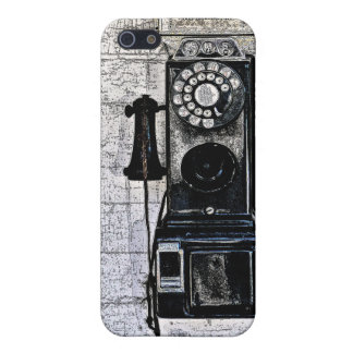 """OLD PUBLIC COIN-OPERATED DIAL PHONE"" IPHONE CASE"