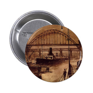 Old Quayside Button Badge