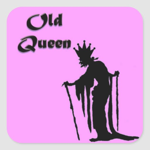 Old Queen Stickers