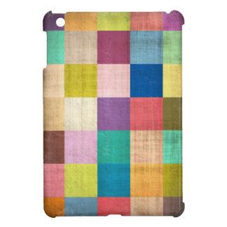 Old Quilt Colorblock Aged iPad Mini Case