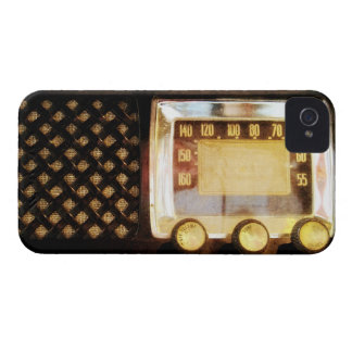 Old radio iPhone 4 cover