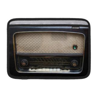 Old radio Macbook Sleeve