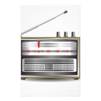 old radio stationery