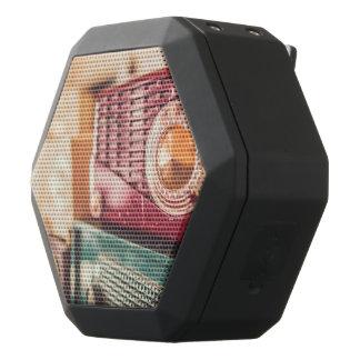 Old radios black bluetooth speaker