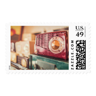 Old radios stamps