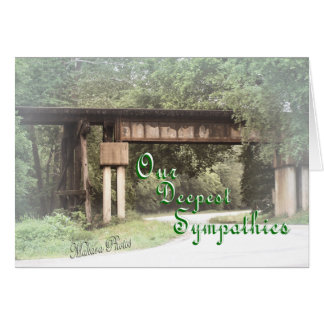Old Railroad Trestle S 81-z Greeting Cards