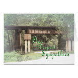 Old Railroad Trestle S 81-z Greeting Card