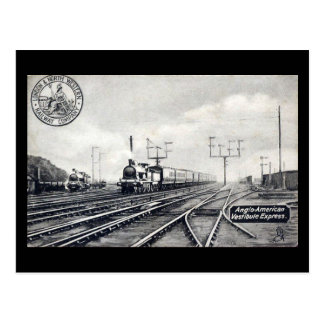 Old Railway Postcard - L&NWR, Anglo-American Expre