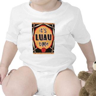 Old Rattan Luau Time Tee Shirts
