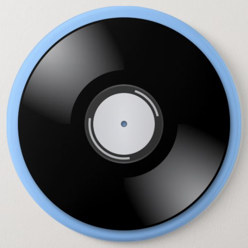OLD RECORD Round Button
